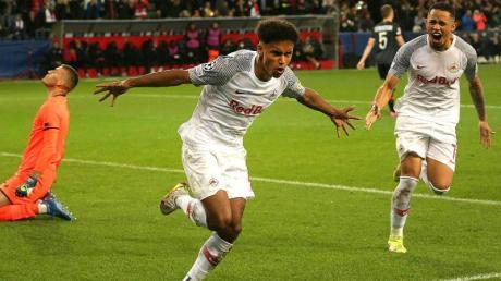 Top-Talent Karim Adeyemi hat sich in Salzburg hervorragend entwickelt und das Interesse zahlreicher europäischer Clubs geweckt.