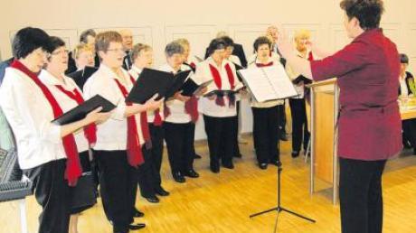 """Mit dem Lied """"Hei, grüaß di Gott, Ländle"""" eröffnete der Gesangverein Bubesheim die diesjährige Jahreshauptversammlung des Kreischorverbandes Mittelschwaben im Bürgerhaus in Bubesheim."""