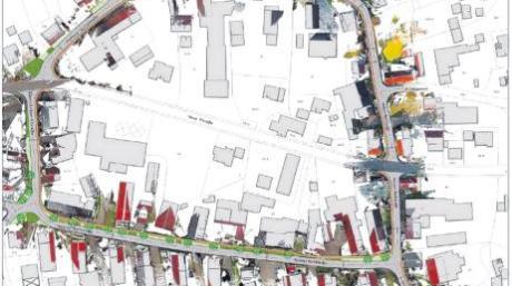 Ein Ring für das Herz des Dorfes: Der erste Planungsentwurf wurde jetzt vorgestellt.