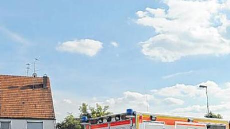 Mit dem Hubschrauber musste der schwer verletzte Motorradfahrer gestern in das Krankenhaus nach Ulm geflogen werden.