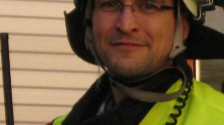 Wattenweilers Feuerwehrkommandant Andreas Böller.