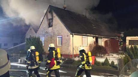 Rund 100000 Euro Schaden entstand bei einem Brand im Kammeltaler Ortsteil Ried. Verletzt wurde niemand.