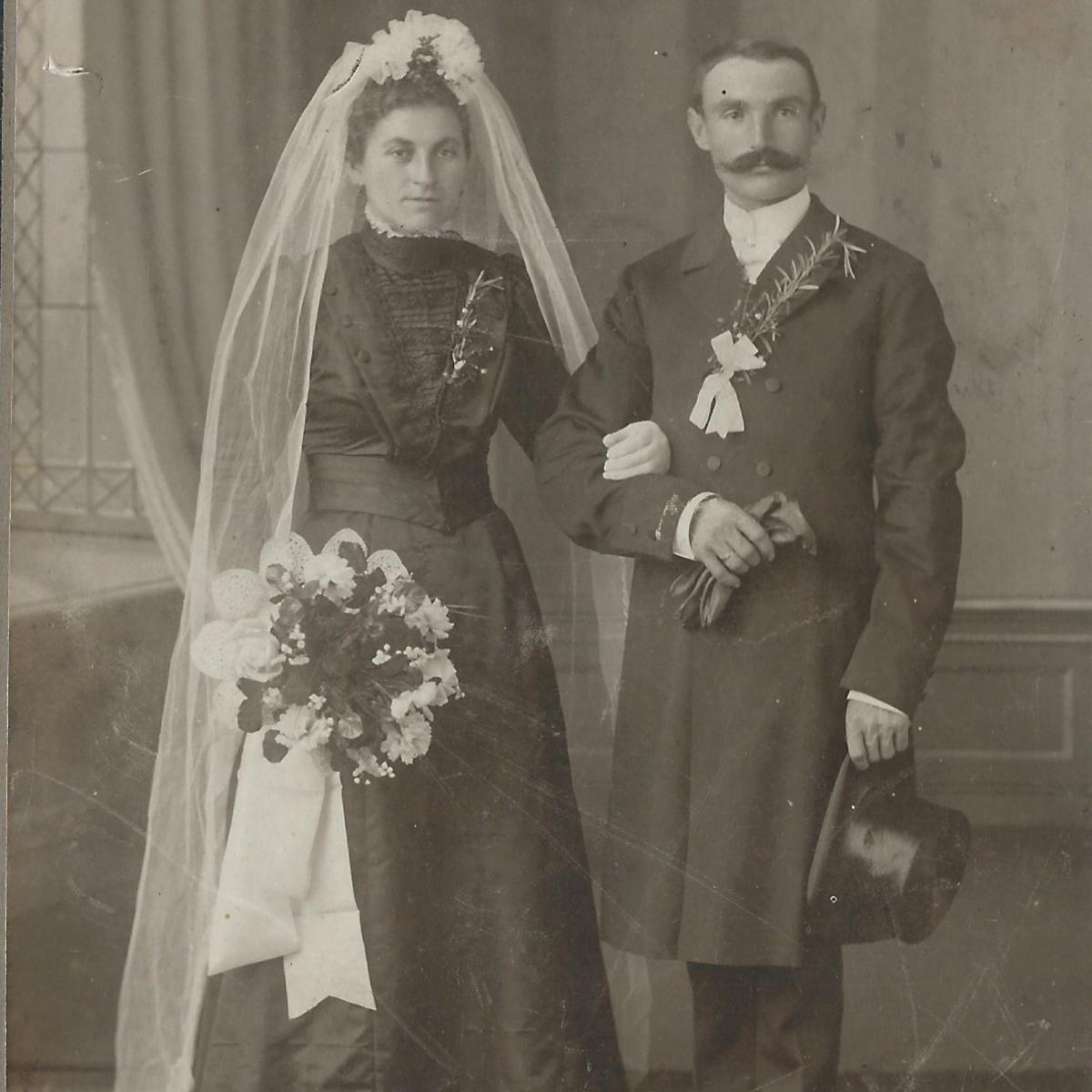 Landkreis Günzburg: Als die Braut zur Hochzeit noch Schwarz trug ...