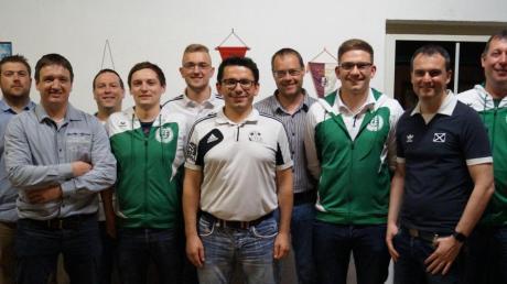 Der neue Vorstand (von links): Tobias Schlosser, Alexander Hupfer, Hubert Äbtle, Markus Hiller, Florian Zecherle, Martin Keppeler, Josef Dubowy, Bernd Schregle, Markus Klamert und Christian Thomma.