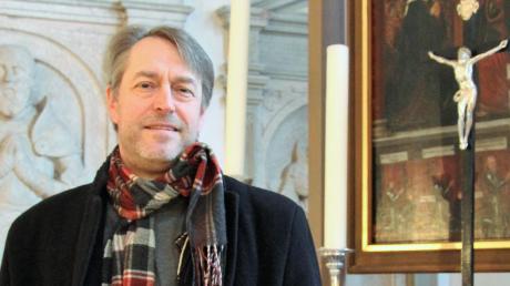Pfarrer Norbert W. Riemer feiert sein persönliches Jubiläum.
