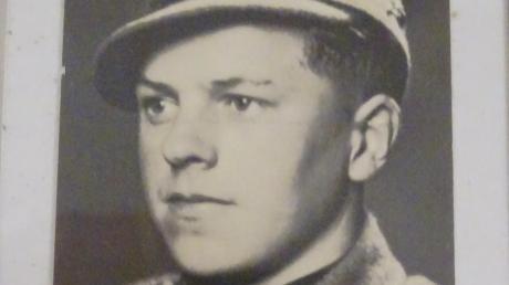 Heinrich Sauter als junger Soldat