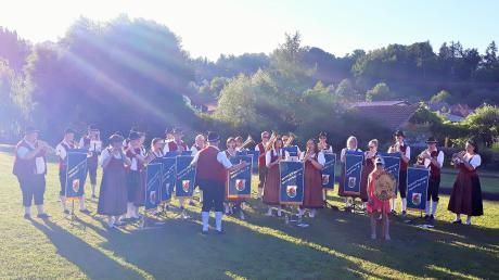 Der Musikverein Neuburg feierte im Rahmen der Kammeltalserenade sein 170jähriges Jubiläum.