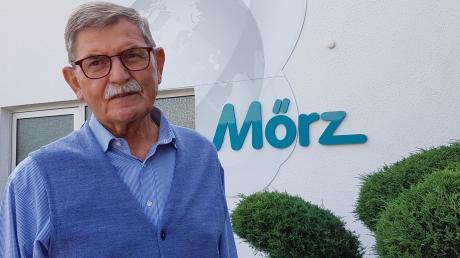 Der Unternehmer Josef Mörz aus Neuburg baute eine Dorfschmiede zu einem weltweit agierenden Unternehmen im Schall- und Spritzschutzbereich aus.