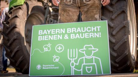 Das von Grünen und ÖDP angestoßene Volksbegehren für mehr Artenschutz stieß aufseiten der Landwirte auf großen Widerstand. Sie wollen sich nicht allein als Sündenböcke für das Artensterben abstempeln lassen. Die KLB will das wechselseitige Verständnis von Bauern und Verbraucher stärken. (Symbolfoto)