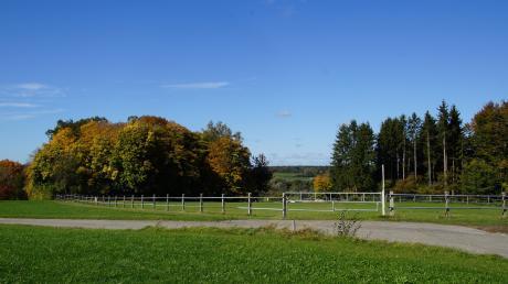 Die Pferdekoppel im Westen des Kreuzberges von Nattenhausen, einst vorgesehen als Friedhoferweiterungsfläche, ist als Standort des VG-Bauhofes vorgesehen.