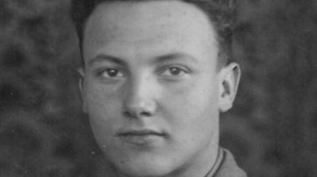 Wilhelm Lochbrunner aus Neuburg als 17-Jähriger Soldat.