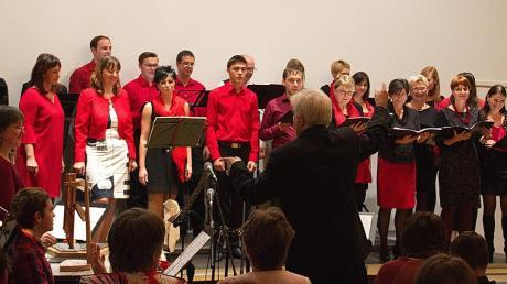 Der Chor Dimuthea aus Dresden (im Bild) konzertiert gemeinsam mit der Chorgemeinschaft Liederkranz Krumbach.