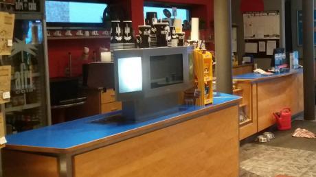 Blick ins Innere des Kinos am Krumbacher Marktplatz.