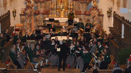 In der Stadtpfarrkirche Maria Himmelfahrt fand das jährliche Kirchenkonzert der Musikvereinigung Thannhausen statt.