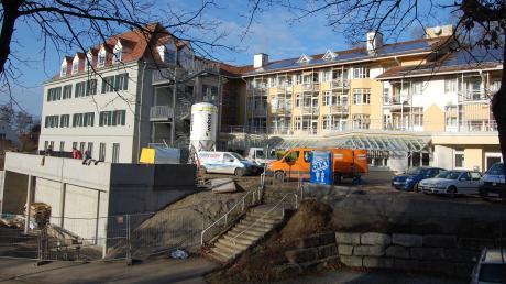 Das ehemalige Kreisaltenheim in Thannhausen wird zum neuen Firmensitz umgebaut.