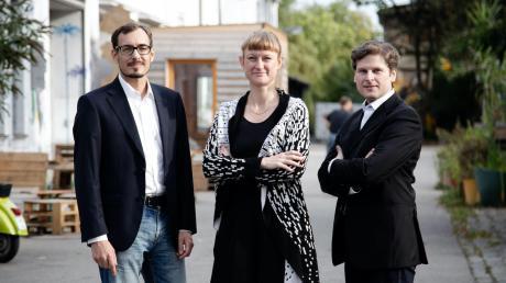 Sind mit ihrer wissenschaftlichen Fachfirma Kontextlab erfolgreich und wurden schon mehrfach ausgezeichnet (von links): Bernhard Scholz, Julia Köberlein und Erich Seifert.