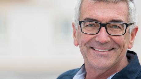 Er hat einen Plan: Architekt Peter Schoblocher möchte Bürgermeister in Thannhausen werden.
