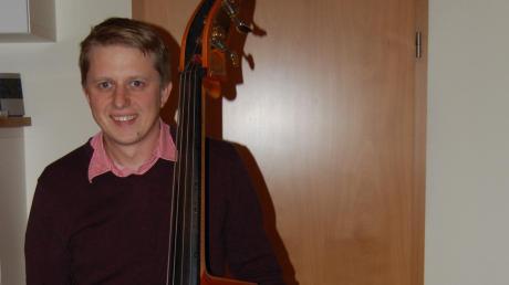 Die Musik ist sein Hobby: Alois Held kandidiert für die CSU für das Bürgermeisteramt in Thannhausen.