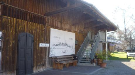 In den Museumsgarten hinein könnte das Heimatmuseum im Tuchmacherhaus erweitert werden.