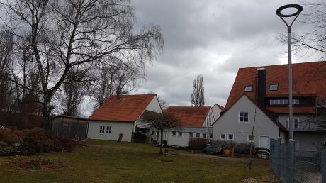 In der Nachbarschaft des Hauses St. Michael könnte ein neuer Krumbacher Kinderhort entstehen.