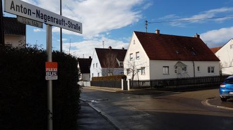 In der Krumbacher Anton-Nagenrauft-Straße stehen umfassende Kanalbauarbeiten an.