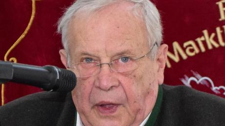 Wenzel Bradac, Vorsitzender des Landesverbandes Bayern.