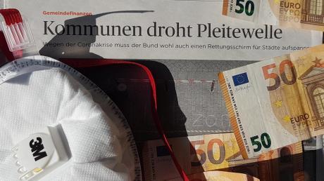 Durch die Corona-Krise geraten auch die heimischen Städte und Gemeinden finanziell in schwere Bedrängnis. Immer häufiger greifen auch die Medien (hier eine Handelsblatt-Schlagzeile) das Thema auf. Tatsächlich ist eine Insolvenz von Kommunen in Deutschland gesetzlich ausgeschlossen. Und doch dürften die finanziellen Folgen für die Kommunen infolge der aktuellen Entwicklung hart werden.