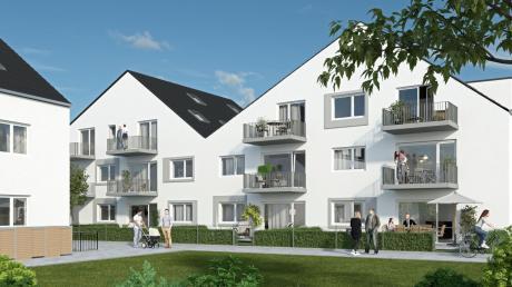 Ein Großteil der Wohnungen in den beiden Gebäuden des Wohnparks am Englischen Garten ist bereits verkauft, obwohl der Spatenstich erst im August erfolgen wird.