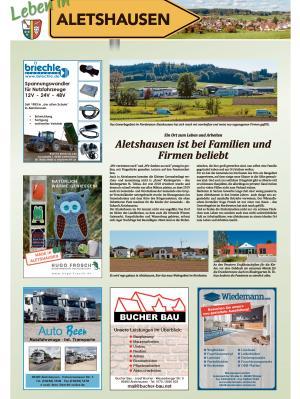 Leben in Aletshausen