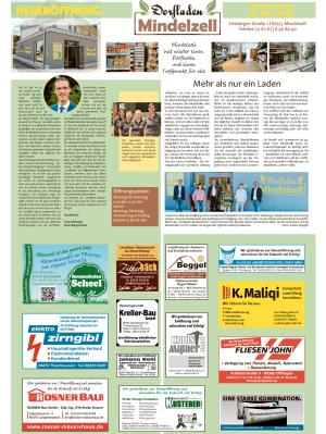 Neu: Dorfladen Mindelzell