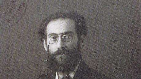 Gustav Landauer wohnte 1917/18 in Krumbach.