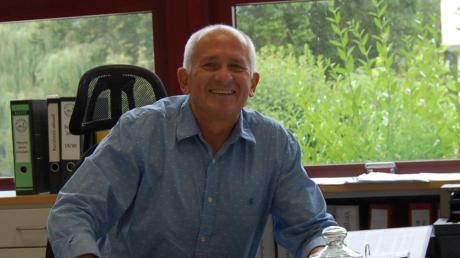 Klaus Mader, Rektor der Mittelschule Thannhausen, verabschiedet sich in den Ruhestand.