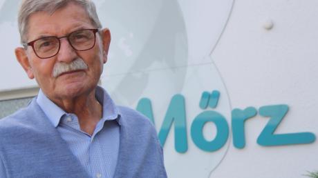 Trauer in Neuburg: Der Unternehmer Josef Mörz ist gestorben. Im Oktober hatte er seinen 80. Geburtstag gefeiert.