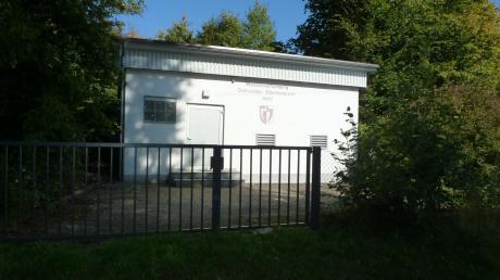 In Ebershausen steht eine umfassende Modernisierung der Umgebung und der Gebäude zu den Trinkwasserversorgungsanlagen in nächster Zeit an. Unser Bild zeigt den Hochbehälter in Waltenberg.