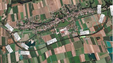 Die derzeit noch im Bau befindliche Ortsumfahrung von Münsterhausen soll noch in diesem Jahr für den Verkehr freigegeben werden. Zur Zeit wird an der Anbindung der Straße an Burtenbach gearbeitet.