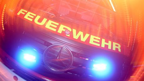 Wegen starker Rauchentwicklung rückte die Feuerwehr am Donnerstagnachmittag nach Zusamzell aus.