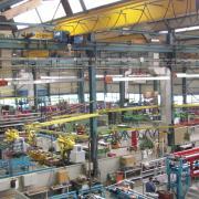 Blick in den Produktionsbereich von Lingl: Das Insolvenzverfahren für die Krumbacher Firma wurde jetzt offiziell eröffnet.