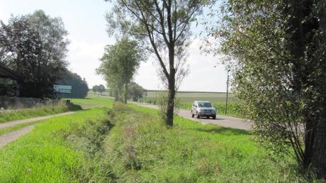 Ein Archivbild aus sommerlichen Zeiten: Die Straße von Deisenhausen Richtung Ingstetten. Sie wird nun ausgebaut.