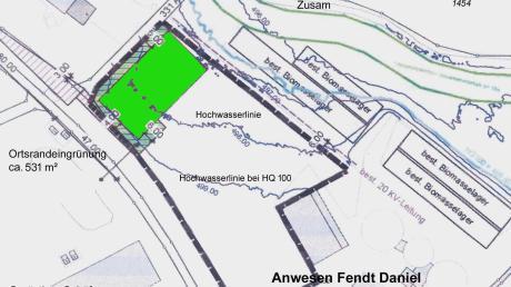 Am nordwestlichen Ortsrand von Memmenhausen plant ein dort ansässiger Landwirt den Bau einer großen Halle zur land- und forstwirtschaftlichen Nutzung. Deshalb musste er eine Einbeziehungssatzung errichten lassen, die einstimmig beschlossen wurde.