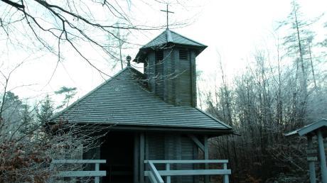 Die Staudenkapelle bei Grimoldsried ist für Wanderer und Radler immer wieder ein beliebtes Ausflugsziel.