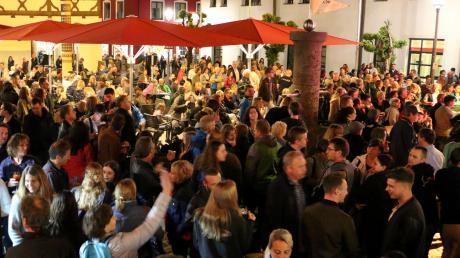 """Immer gefragt sind die Konzerte bei """"Live am Marktplatz"""". Vielleicht ist es diesen Sommer wieder soweit."""