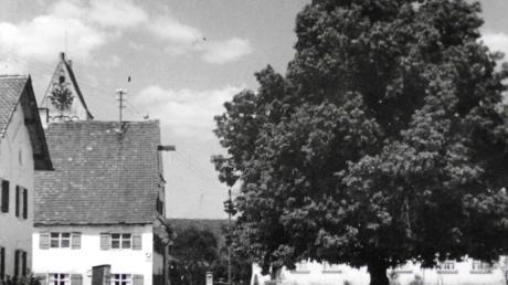Bis zum Jahr 1969 leistete das Gasthaus Zum Ochsen der Linde Gesellschaft.