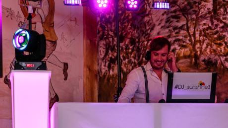 Patrick Mielke als DJ Sunshine bei einem seiner Auftritte.