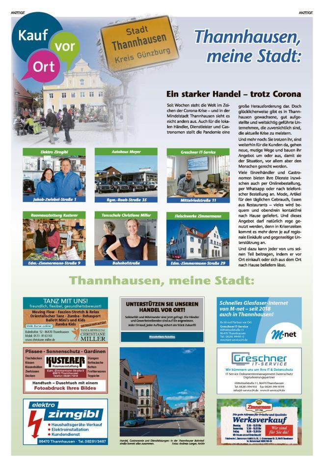 Thannhausen, meine Stadt