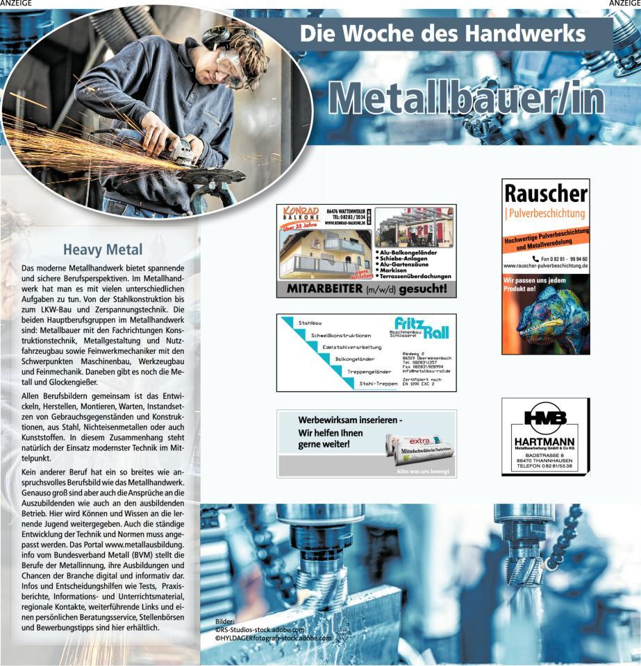 Woche des Handwerks: Metallbauer