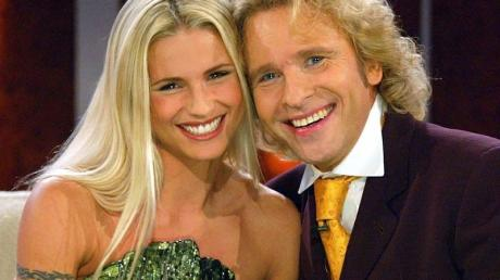 Seit September 2009 moderierte Gottschalk «Wetten, dass ..?» zusammen mit Michelle Hunziker als Co-Moderatorin.