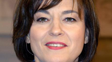 Maybrit Illner ist für den «Fernsehpreis» nominiert. Foto: Karlheinz Schindler