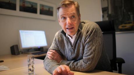 Seit zehn Jahren ist Claus Kleber das Gesicht des «heute-journals». Foto: Fredrik von Erichsen
