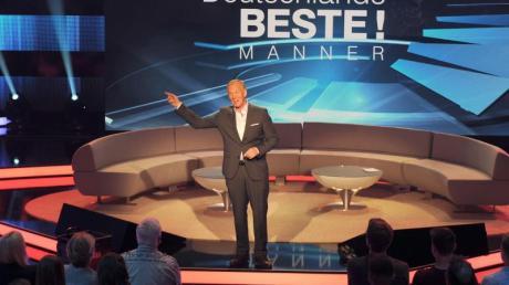 Johannes B. Kerner moderiertdie ZDF-Show «Deutschlands Beste!». Foto: Caroline Seidel
