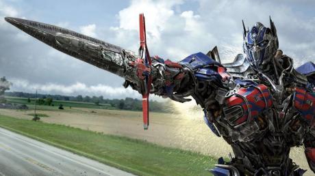An Ostern laufen auch die Transformers im TV.